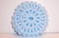 LIGHT BLUE NYLON NETTING SCRUBBIE